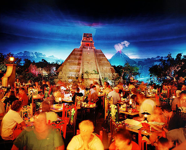 USA, Florida, Orlando: Disney World, Epcot: The World, Mexico